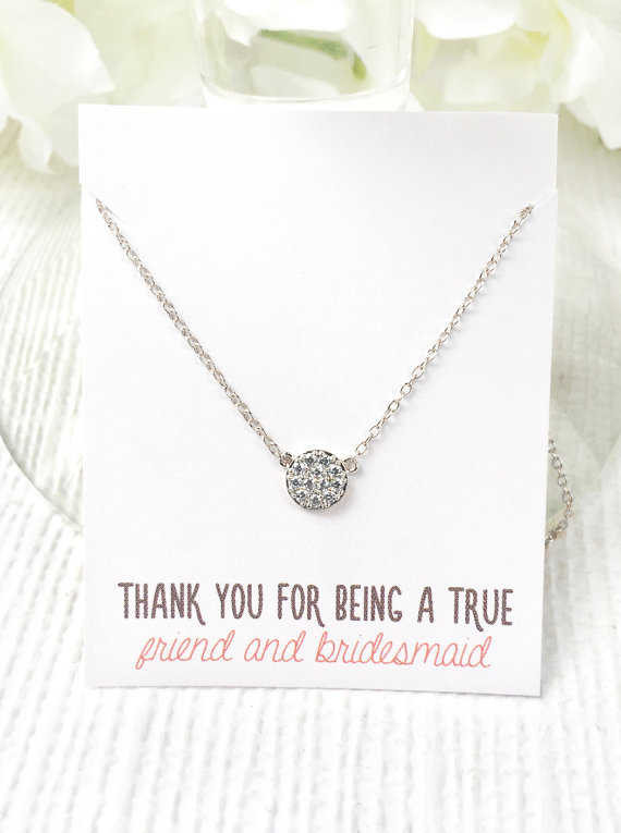 heart setbridesmaid for of bridesmaid giftrose set idea earringsmatron shaped jigsaw gold honor necklaces necklace giftbridesmaid necklacebridesmaid gift jewelry