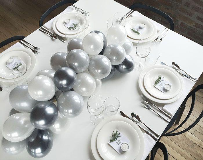Mariage - DIY Balloon Centerpiece