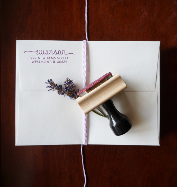 Wedding - Personalized Address Stamp