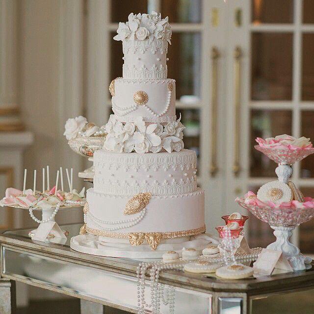 Hochzeit - Dessert Tablescapes