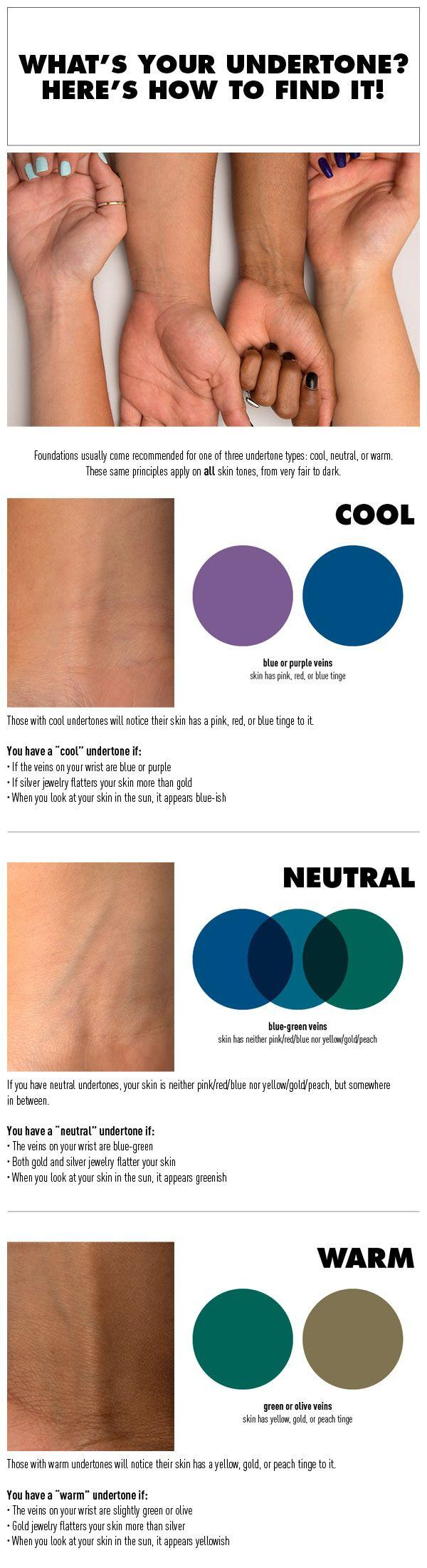 Свадьба - How To Find Your Undertone And Choose The Right Foundation