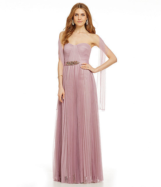 c1c1aa474d48b Adrianna Papell Strapless Tulle Gown #2326832 - Weddbook