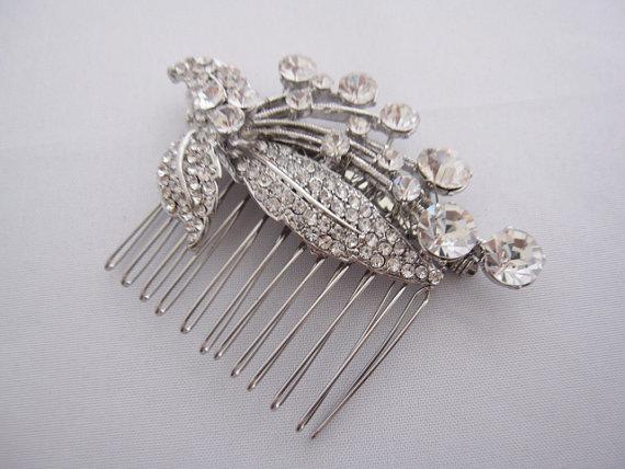 Свадьба - bridal hair comb wedding comb bridal hair piece wedding hair comb bridal hair jewelry wedding headpiece bridal headpiece wedding hair comb