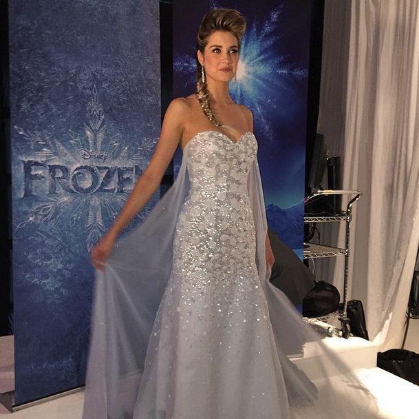 زفاف - First Look At 2015 Disney Wedding Gowns From Alfred Angelo