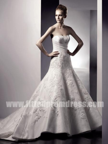 Wedding - Enzoani Ellen Sweetheart Neckline Wedding Gowns