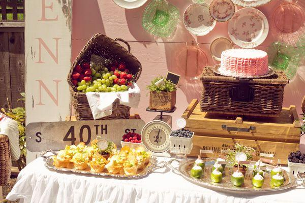 """Mariage - """"In Full Bloom"""" {A French Baby Shower"""