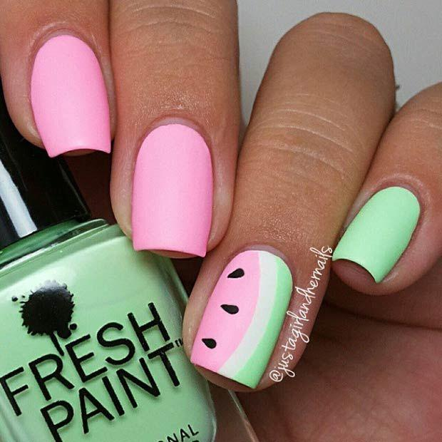 Свадьба - 30 Eye-Catching Summer Nail Art Designs