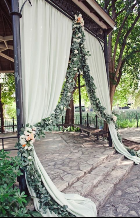 Wedding - 36 Romantic Drapery Wedding Decorations Ideas