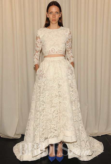 Houghton Wedding Dresses - Fall 2014 - Bridal Runway Shows | Brides