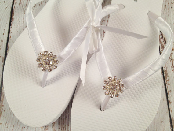 Bridal Flip Flops Bridesmaid Flip Flops Bridal Party Flip Flops 2328304