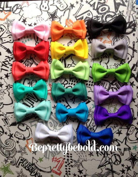 Mariage - Dog bow tie Pet Bowtie cat Collar Bow ties Puppy Bowtie Kitten Accessories Easy to use Collar BePrettyBeBold Wedding Ring Bearer Outfit Blue
