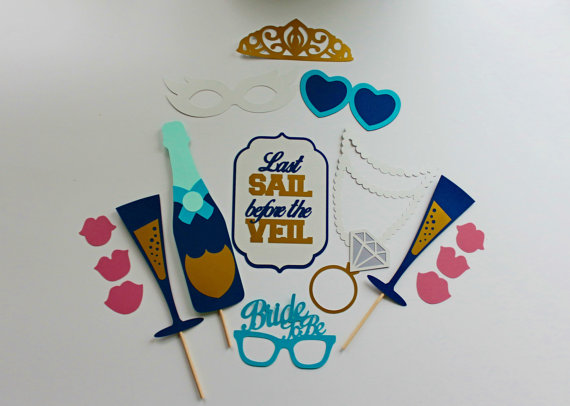 Mariage - Last Sail Before The Veil Photo Booth Prop Collection