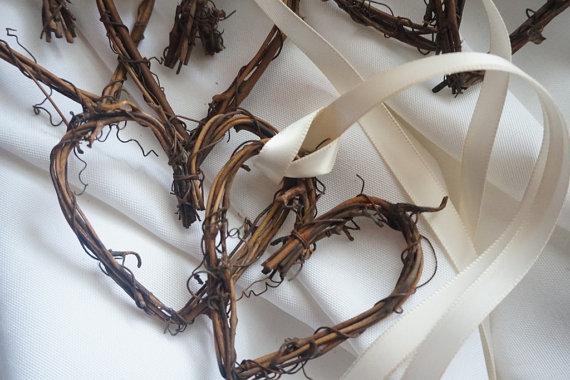 Wedding - Rustic Pew Bows, Ceremony & Reception Decor, 10pcs