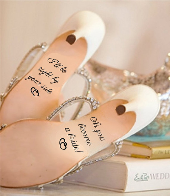 زفاف - Wedding Shoe Decal