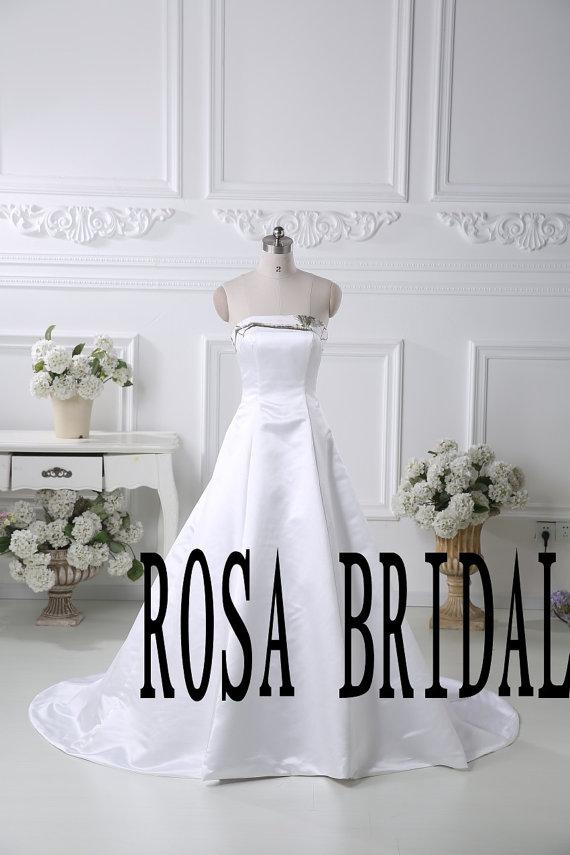 زفاف - Camo wedding dress, Camouflage wedding gown, Camo A line bridal dress,Camo white wedding dress Custom Size