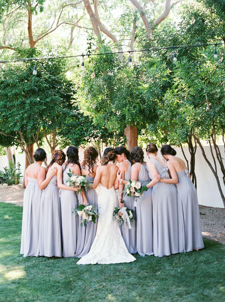 Hochzeit - Bridesmaid Inspiration