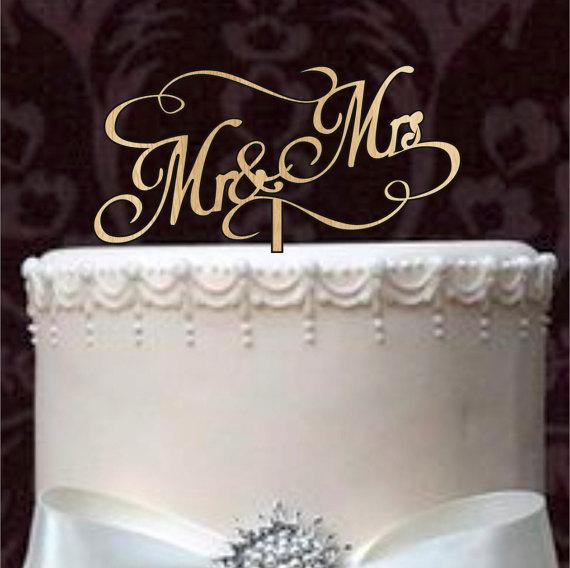 Rustic Wedding Cake Topper Custom Wedding Cake Topper Monogram
