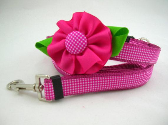 Dog Flower Collar Wedding Wedding Girl Dog Collar With