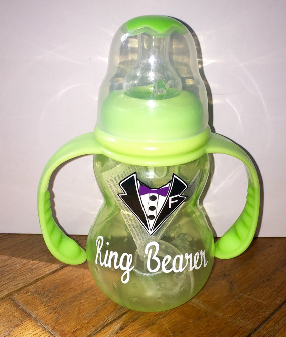 Mariage - Personalized Ring Bearer Sippy Cup
