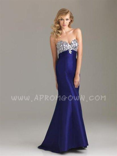 Beautiful Purple Long Mermaid Prom Dress By Night Moves 6431 ...