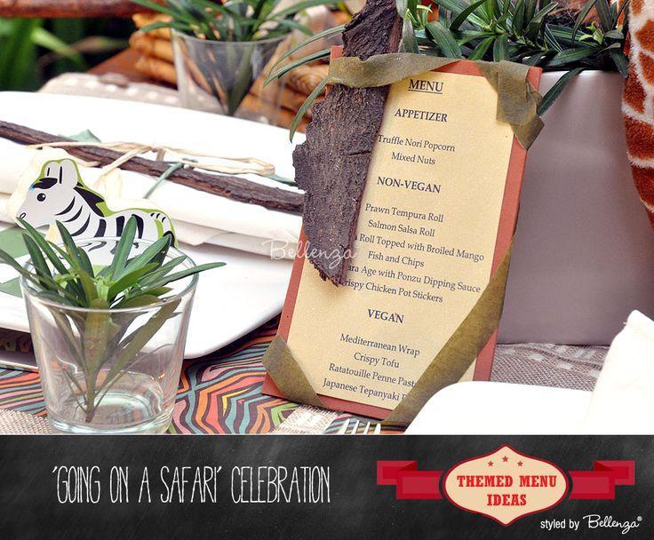 Hochzeit - Creative Menu Card Ideas To Suit Your Party Theme!