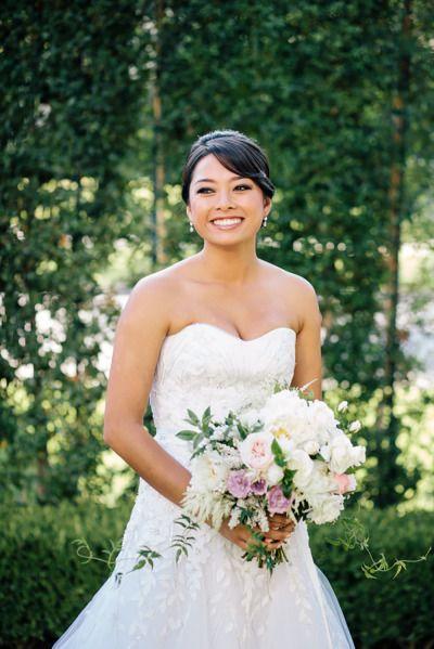 Hochzeit - Romantic Garden Inspired Summer Wedding