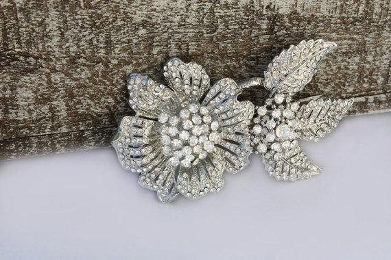زفاف - Vintage Inspired Pearls bridal hair comb,wedding hair comb,wedding hair accessories,pearl bridal comb,crystal wedding comb,bridal headpieces