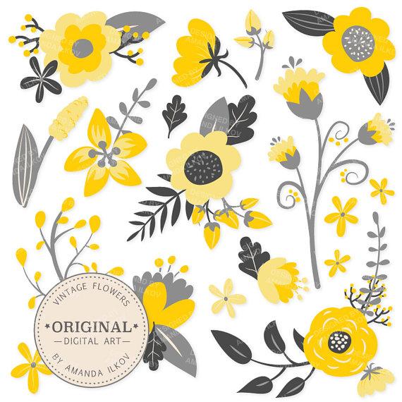 Premium yellow flowers clipart floral vectors yellow floral premium yellow flowers clipart floral vectors yellow floral vintage flowers flower clip art vector flowers mightylinksfo