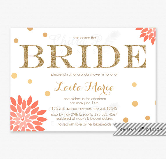 Bridal Shower Invitation Ideas for good invitations ideas
