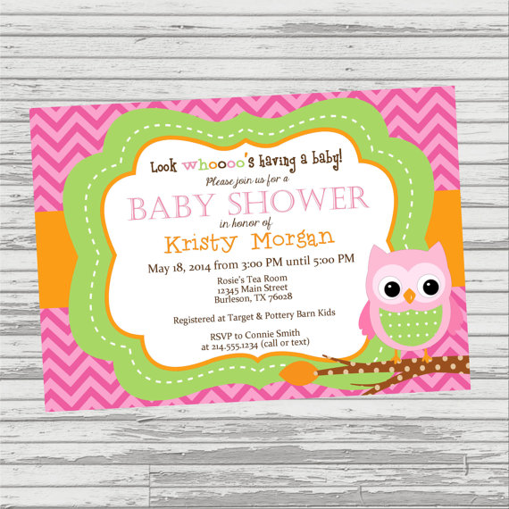d n owl baby shower invitation look whoooo 39 s having a baby