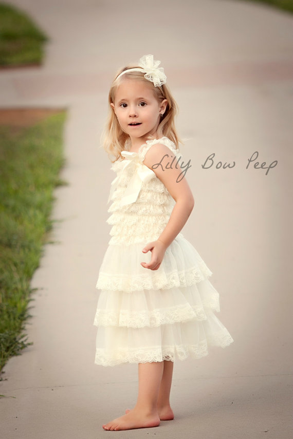 bd78fd99f Baptism Dress-Flower Girl Dress-Ivory Lace Dress-Baby girl Clothes-Newborn  Girl Dress-Christmas Dress-Baby Dress-Christening Dress-Wedding