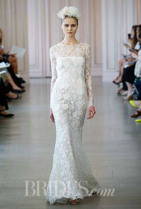 Oscar De La Renta Wedding Dresses Spring 2016 Bridal Runway