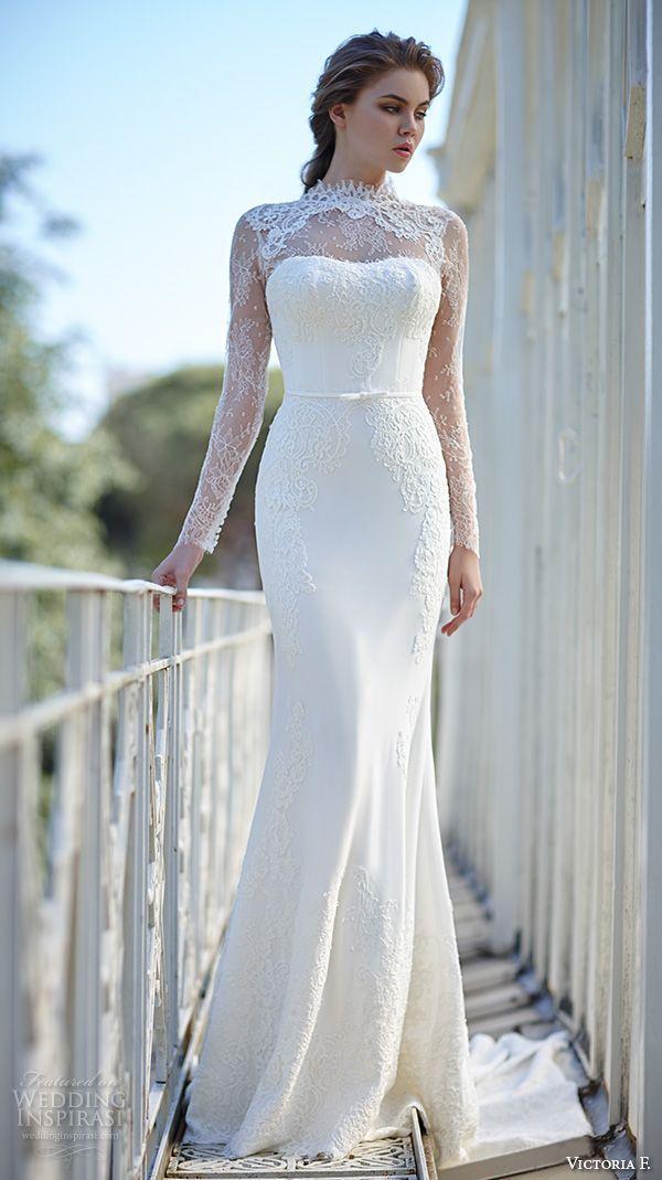 زفاف - Victoria F. 2016 Wedding Dresses — Pura Eleganza Bridal Collection