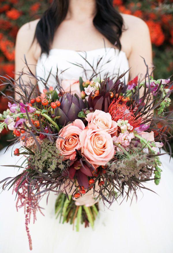 Свадьба - Bohemian Fall Bridal Session