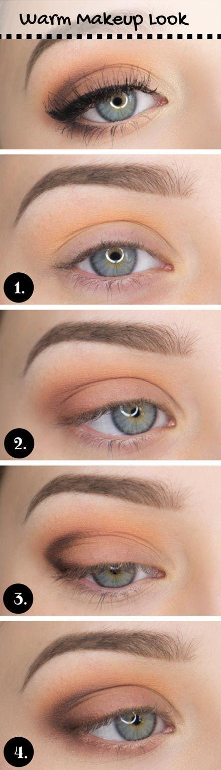 زفاف - 15 Gorgeous Makeup Looks For Blue Eyes