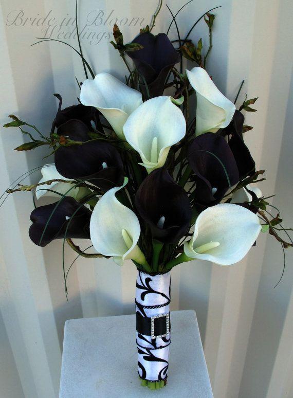 Wedding Theme Black Wedding Bouquet Ideas 2331071 Weddbook