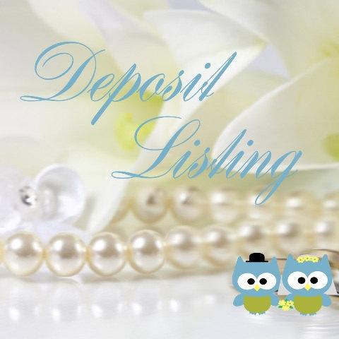 زفاف - Wedding Invitation Suite - Deposit Listing