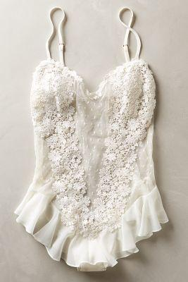 Wedding - Fleur Flutter Bodysuit