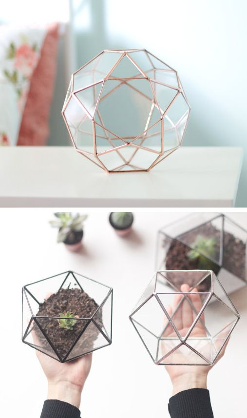 Свадьба - Handmade Geometric Terrariums By Waen