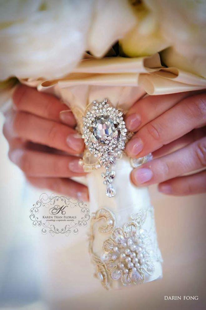 Mariage - Wedding Bouquet Wraps, Holders And Handles Ideas