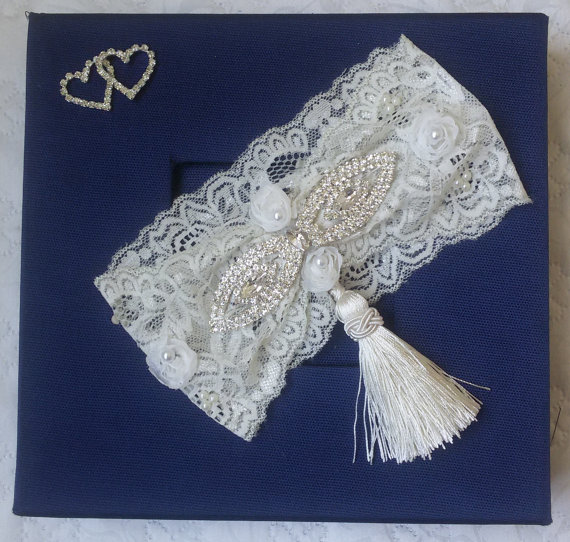 Свадьба - Wedding leg garter, Wedding Garter , Ivory Lace Garter , Bridal Garter Accessory, Wedding Accessory, Bridal Accessory