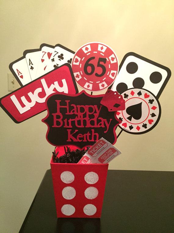 Casino Party Centerpieces Birthday Decorations