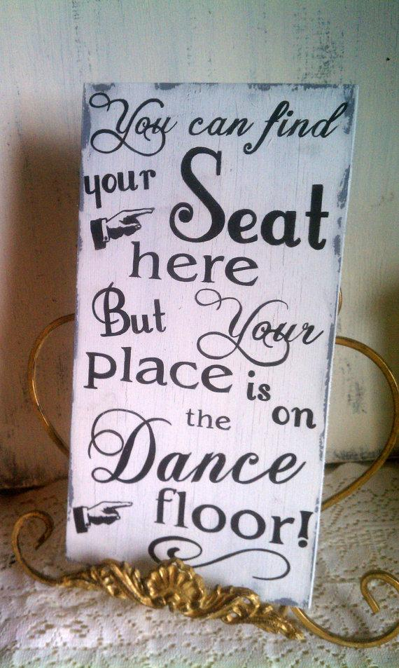Mariage - Wedding Sign, Seating Assignment, Dance Sign,  Rustic, Vintage, Barn, Reception Decor, Wood