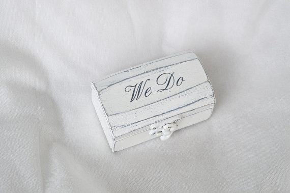 Mariage - Double Ring Box Wedding Ring Box Personalized Rings Box Ring Bearer Box Proposal Ring Box Hearts Engagement Ring Box