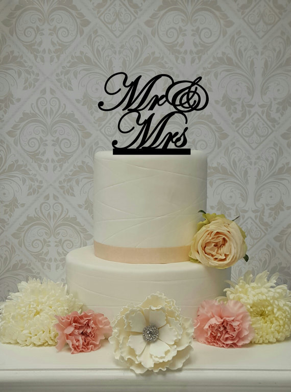 Mariage - Mr and Mrs Cake Topper Wedding Cake Topper Mr and Mrs Mr and Mr Mrs and Mrs