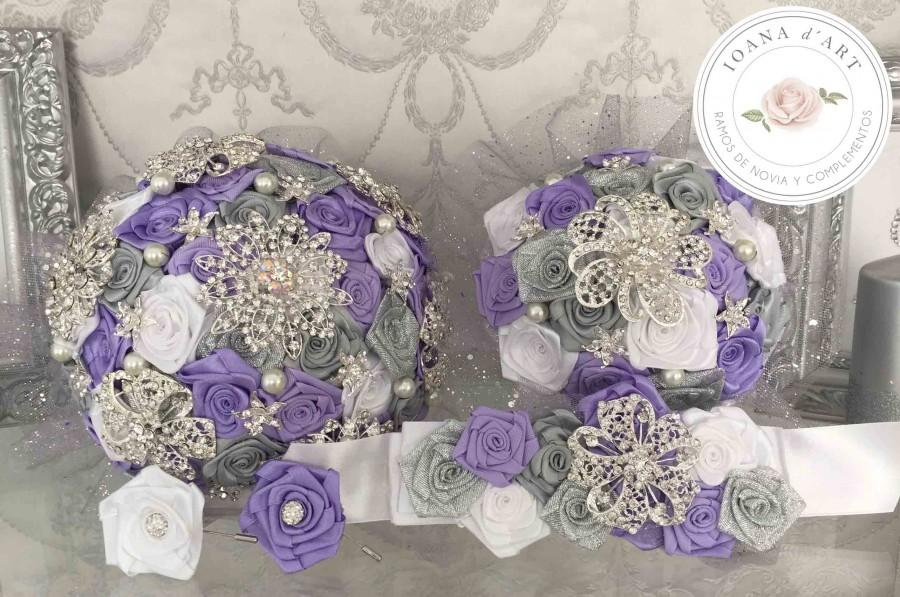 Wedding - Ramo de broches