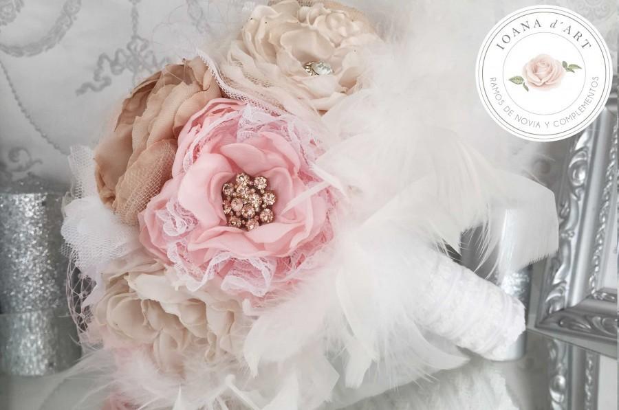 Hochzeit - Ramo flores de tela