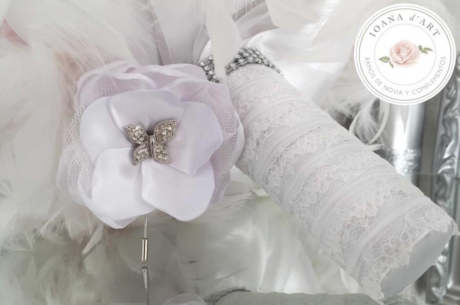 Wedding - Ramo lores de tela
