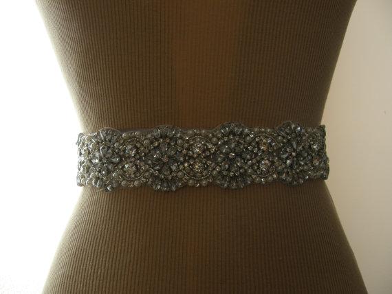 Mariage - SALE / Wedding Belt, Bridal Belt, Bridesmaid Belt, Sash Belt, Wedding Sash, Bridal Sash, Belt, Crystal Rhinestone & Pearl