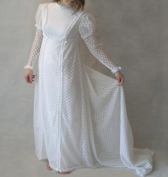 Свадьба - Juliet Vintage Wedding Dress - 1960s